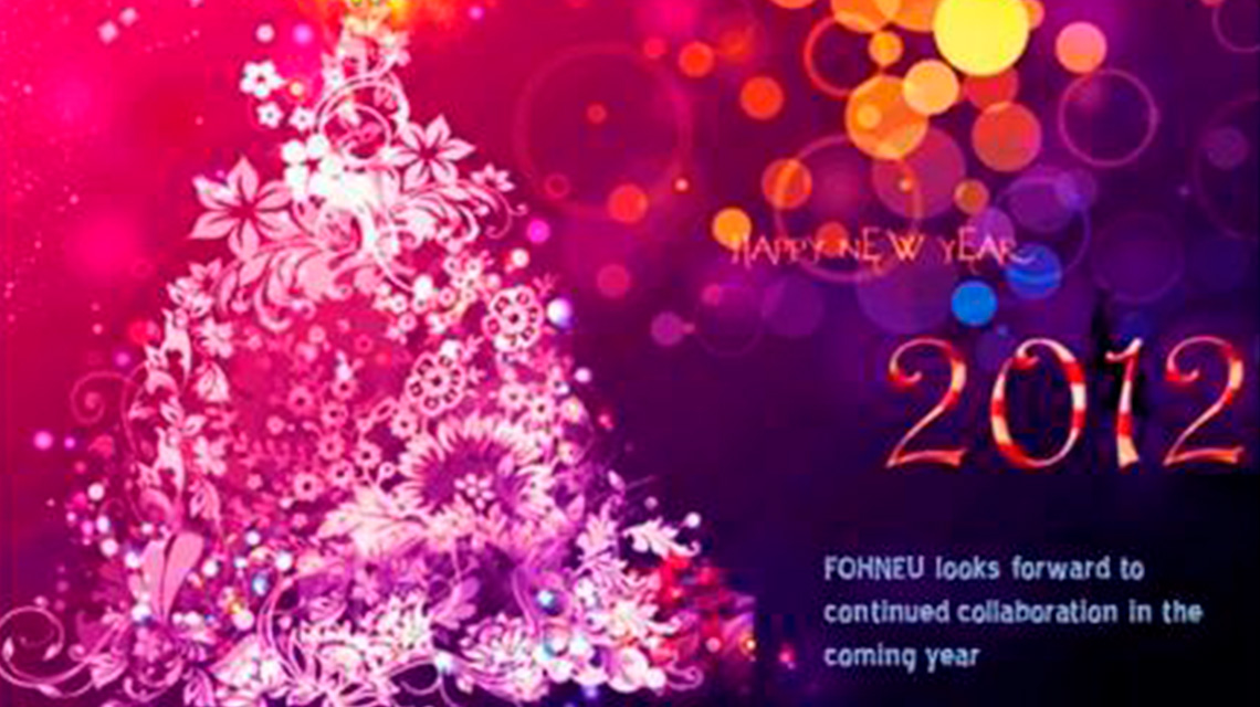HAPPY NEW YEAR from FOHNEU