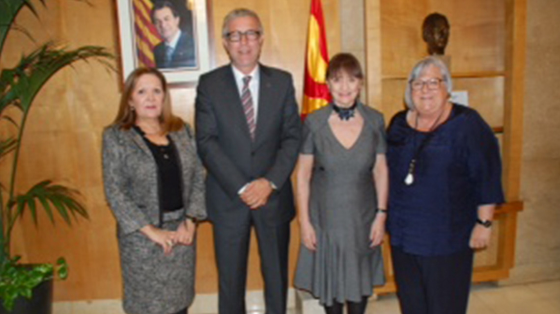 The Mayor of Tarragona offers support for the Tarragona Congress
