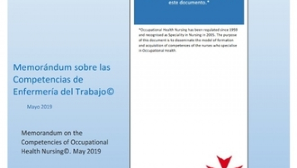 Memorandum on the competences of Occupational Health Nursing - Spain