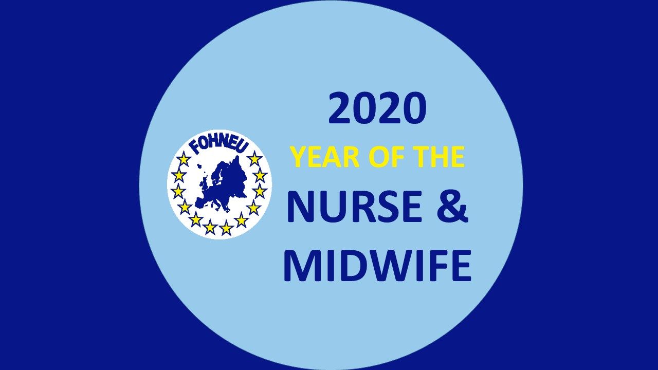 FOHNEU welcomes 2020 as International Year of the Nurse and Midwife